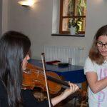 Geige lernen in Musikschule