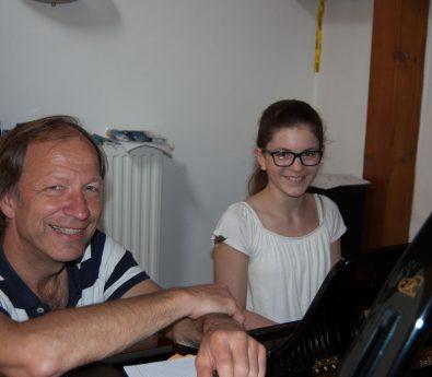 Klavier lernen in Musikschule