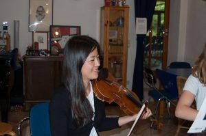 Unterricht Geige