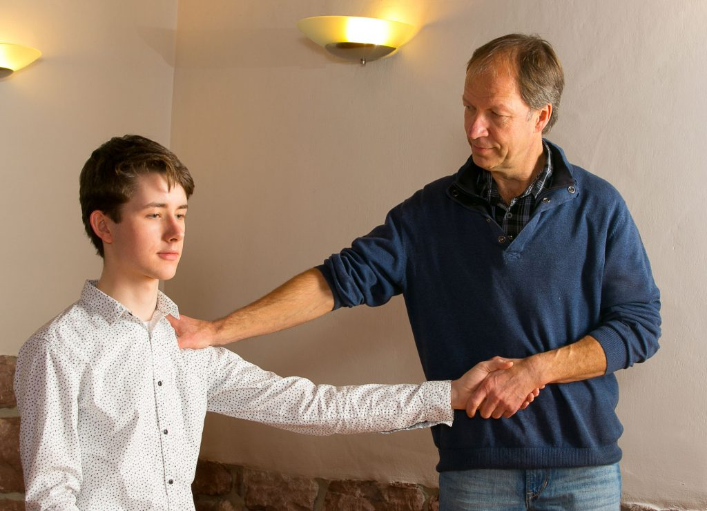 Hilfe bei Schulterschmerzen
