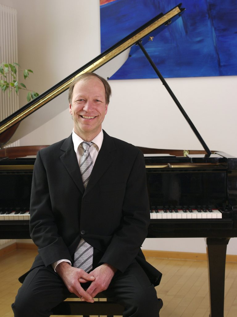 Karsten Krutz am Klavier